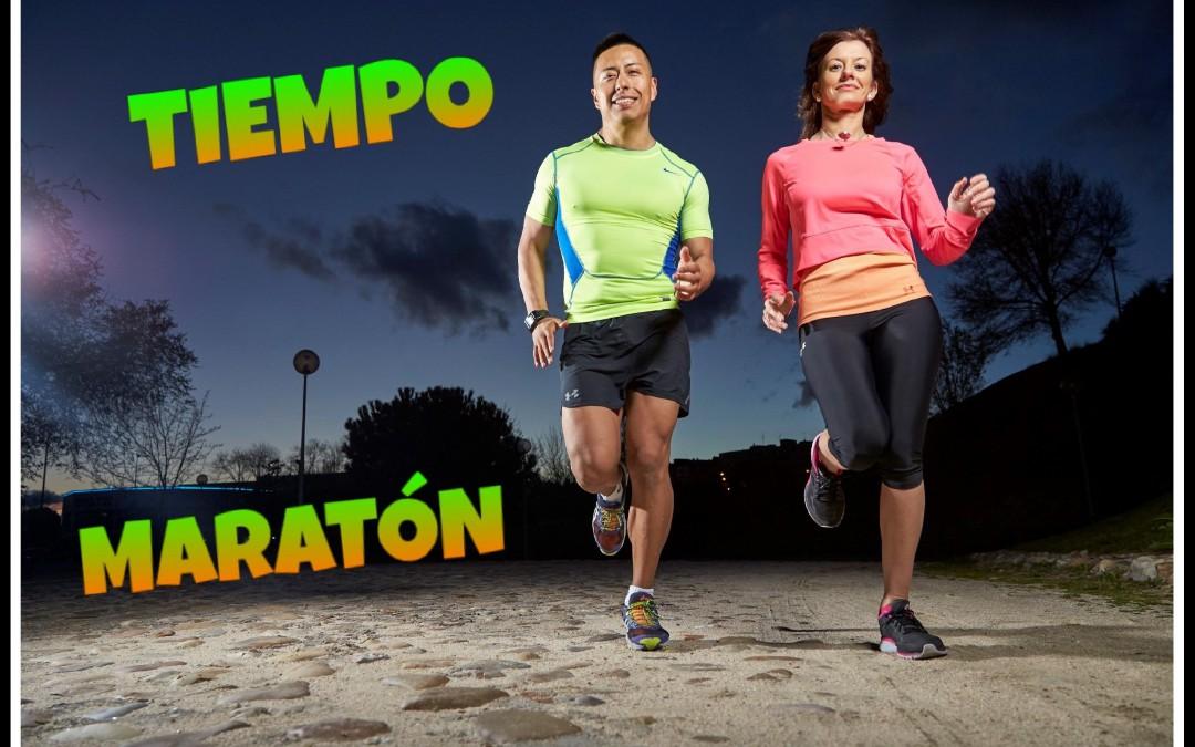 Maratón: Calcula tu tiempo